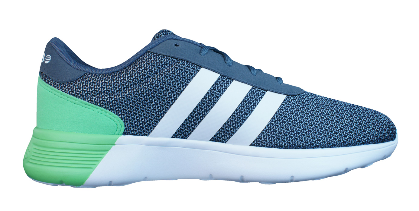 adidas Neo Lite Racer Mens Running Trainers / Shoes - Grey