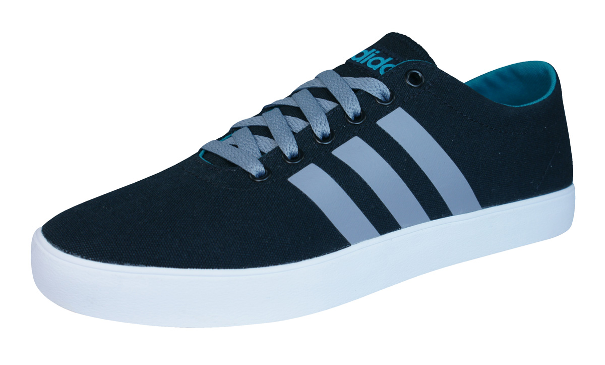 adidas Neo Easy Vulc VS Mens Trainers   Shoes - Black and Grey at ... 1c2d6ac83
