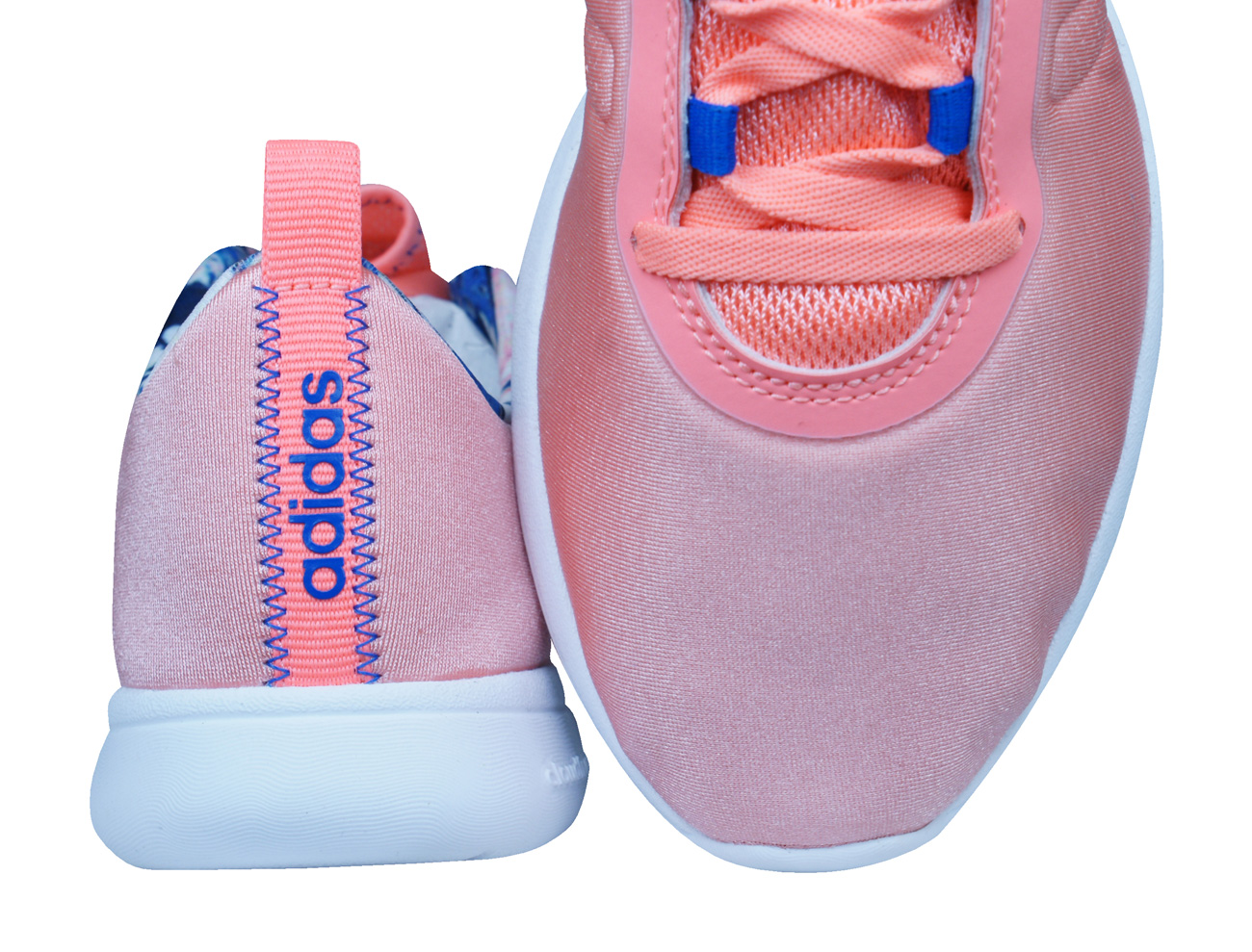 best loved 7f120 38adc adidas Neo Cloudfoam Pure Womens Running Trainers   Shoes - Peach