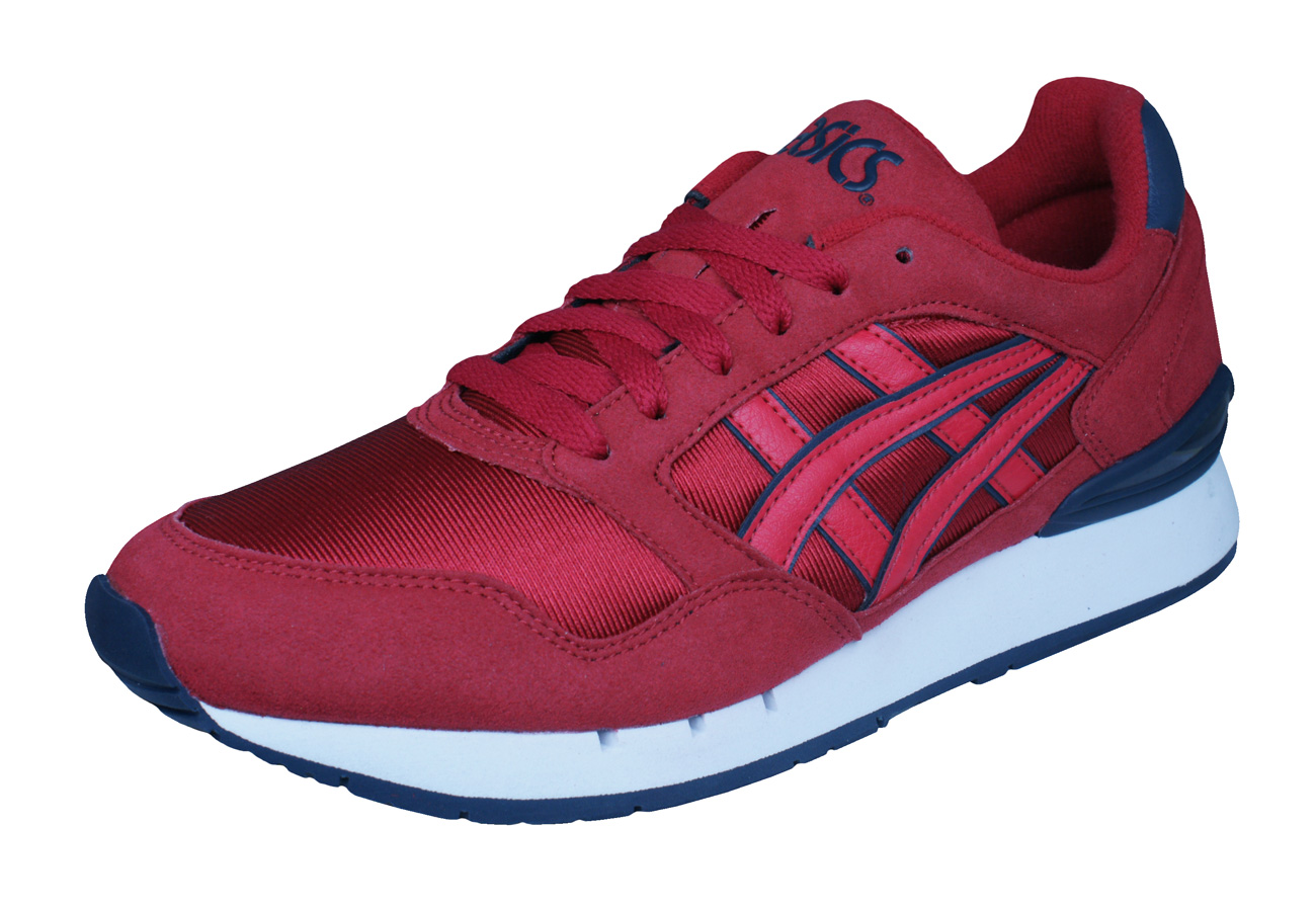 Asics Gel Atlantis Unisex Running Trainers   Shoes - Red at ... 525055a580e4