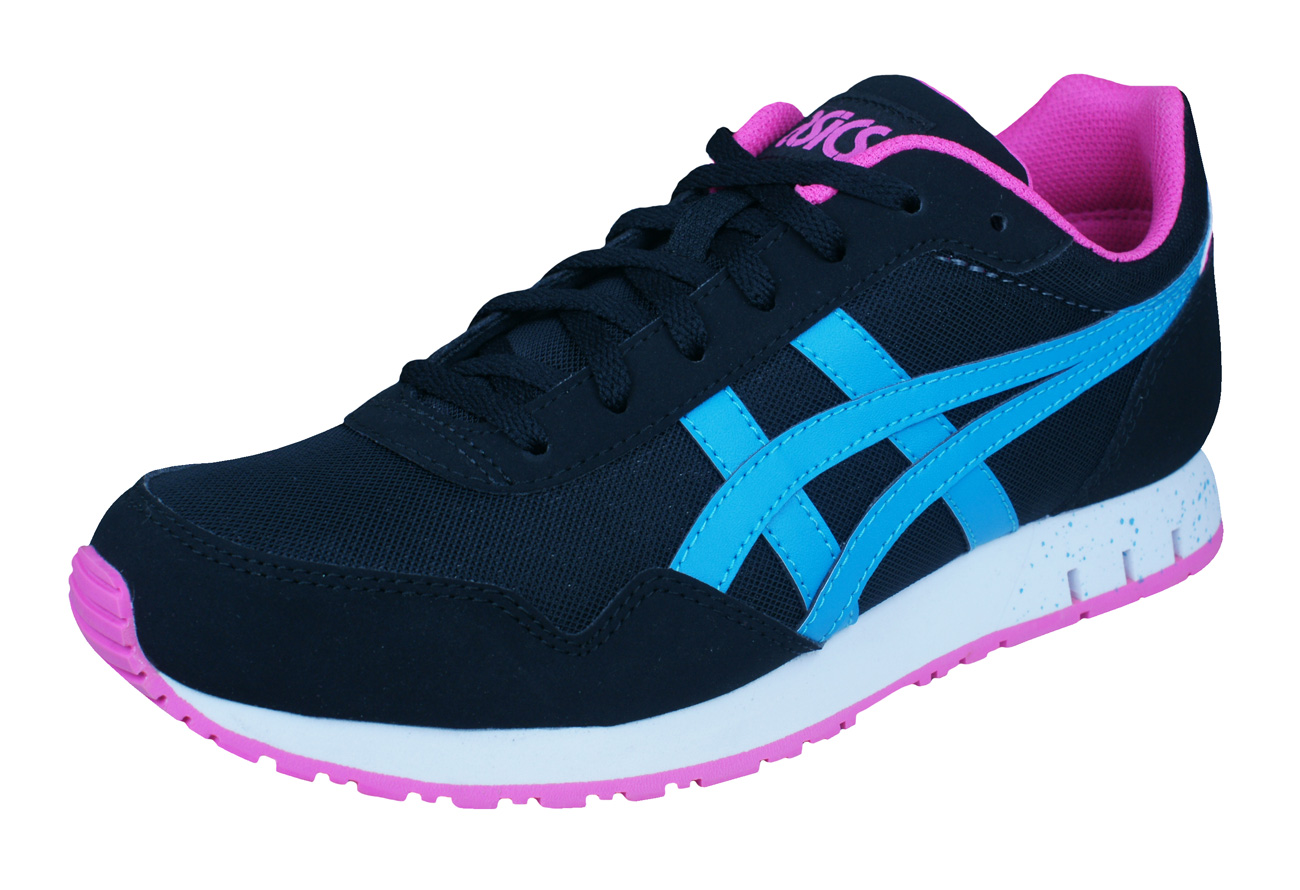 Asics Curreo Mens Running Trainers Shoes Black And