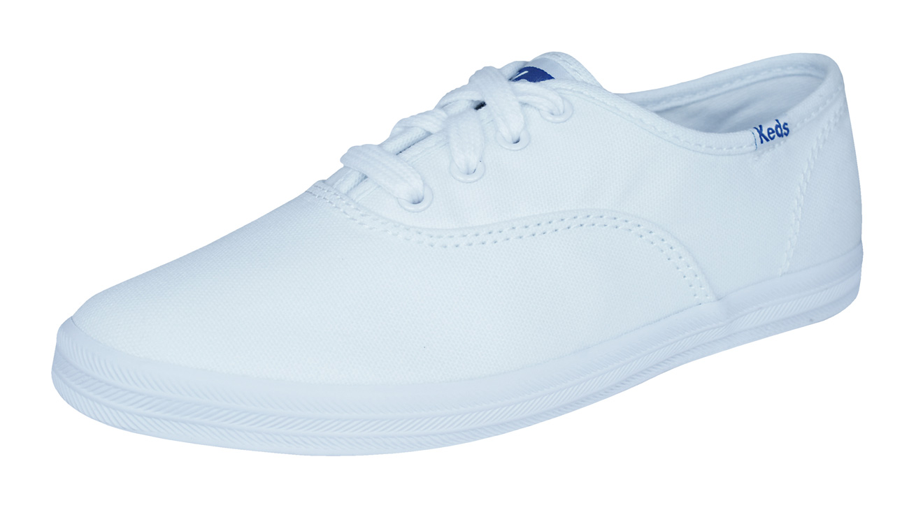495fff88a16c31 Keds Champion CVO Toddlers Girls Lace Up Trainers   Shoes - White at ...