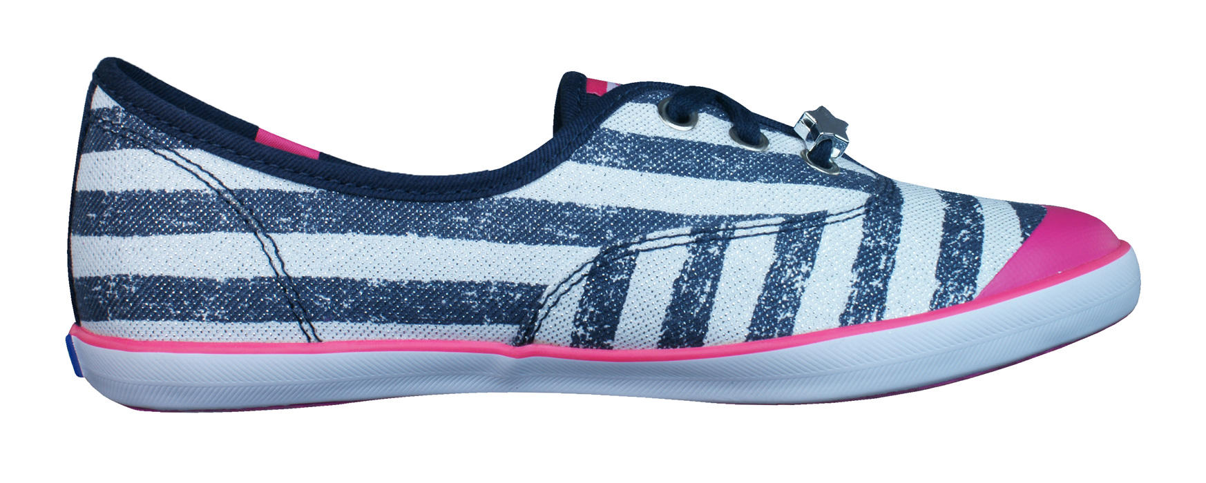 358ae69366bcff Keds Champion K Girls Lace Up Trainers   Shoes - Navy Blue at ...