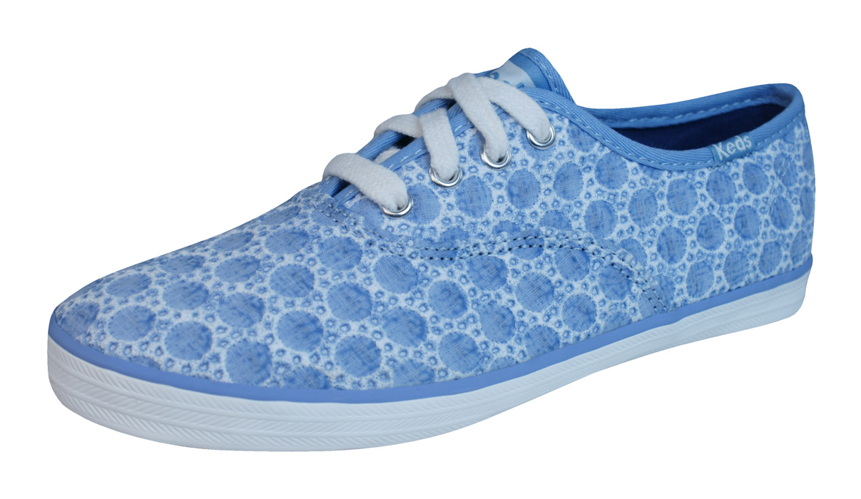 1c8c43198 Keds Champion CVO Girls Lace Up Trainers   Shoes - Blue at ...