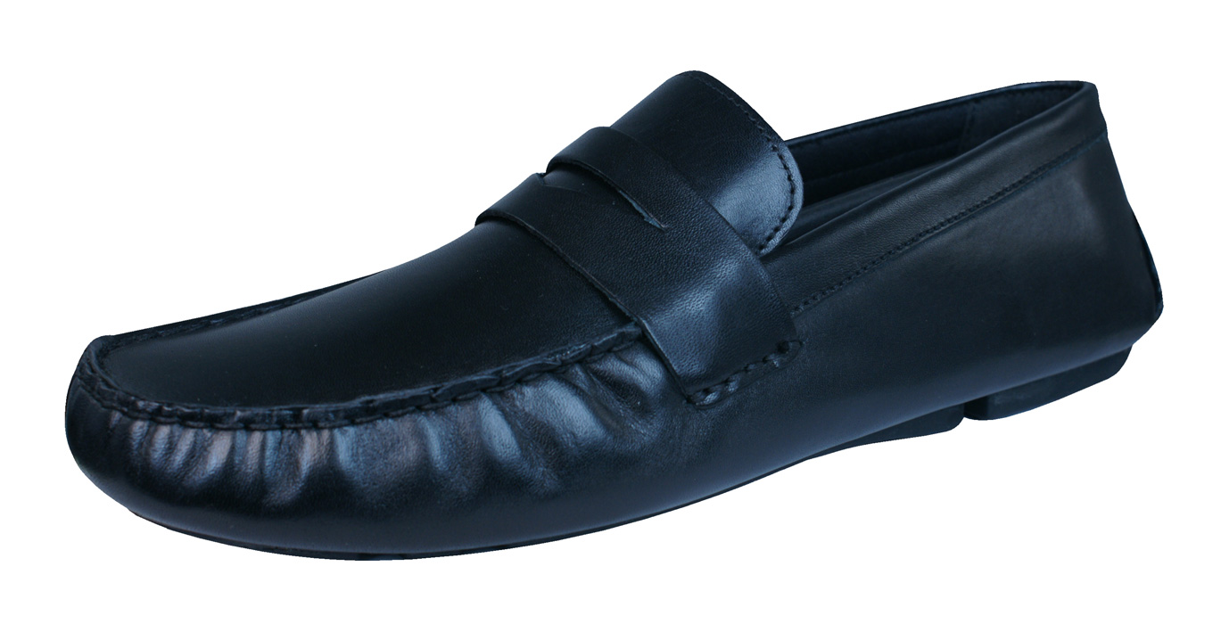 Red Tape Cranfield Mens Leather Slip On Loafers / Shoes ...