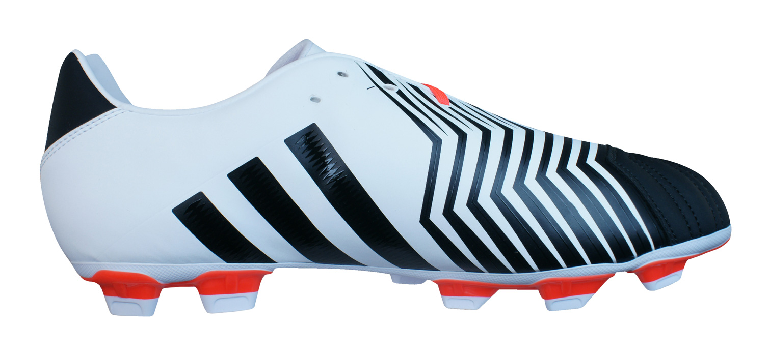 adidas Incurza Rugby TRX FG Mens Rugby Boots Black and White