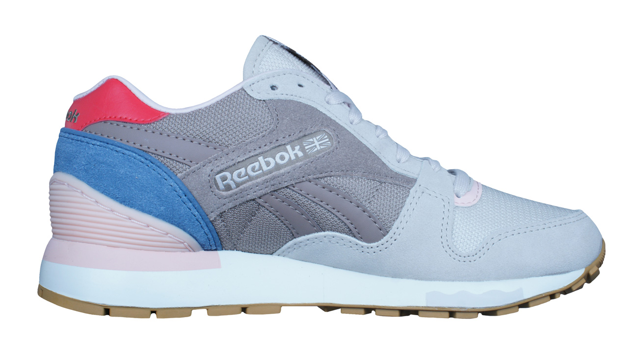 8e124855917 Reebok Classic GL 6000 Fleur Womens Trainers   Shoes - Taupe at ...