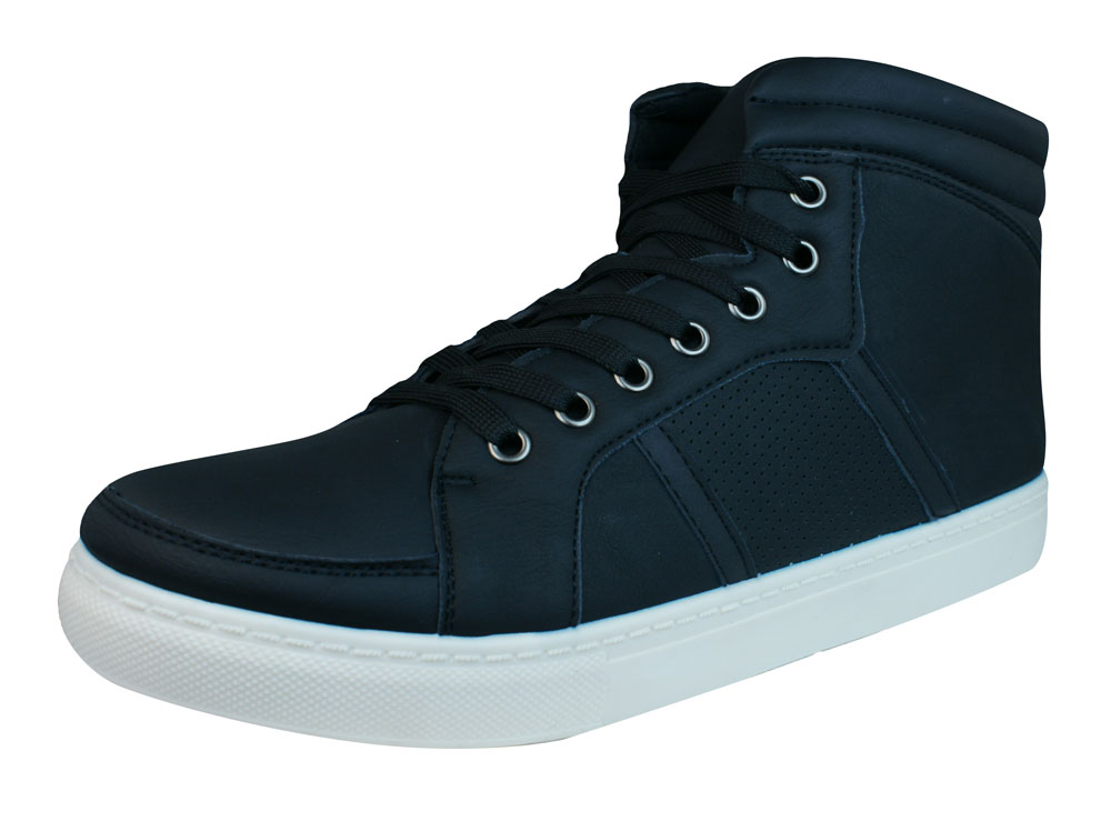Galaxy N921 Mens Casual Lace Up Hi Top Trainers Ankle