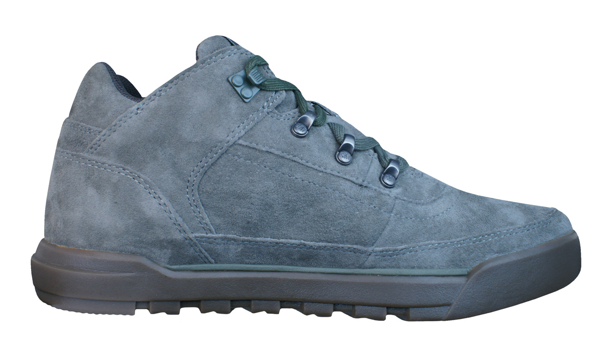 caterpillar foreseen mens leather suede boots trainers
