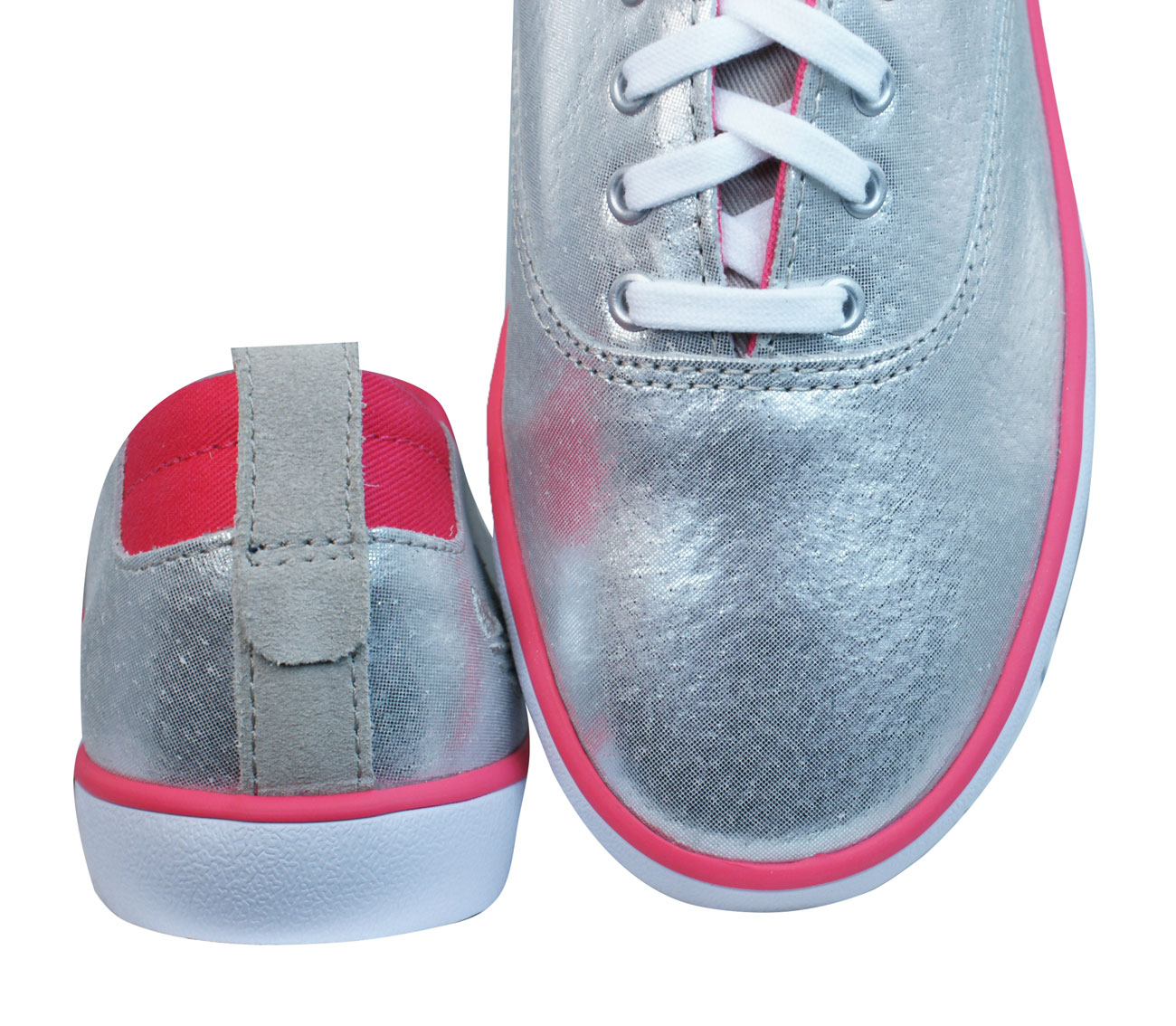 adidas Originals Azurine Low Womens Leather Trainers / Shoes - Silver