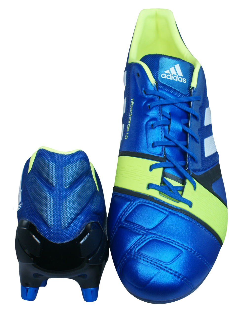new style 37be2 cca33 adidas Nitrocharge 1.0 XTRX SG Mens Football Boots - Cleats - Blue