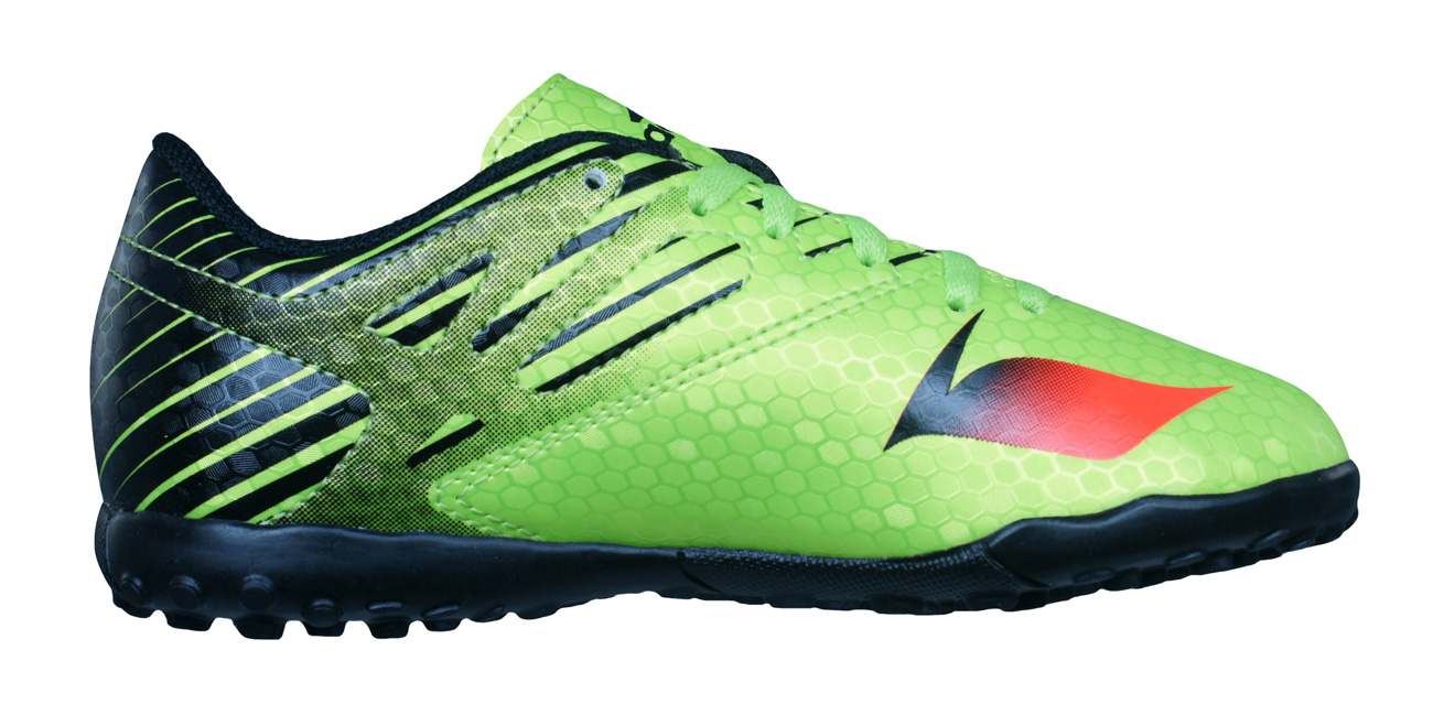 8246956ffcac1 adidas Messi 15.4 TF J Boys Astro Turf Football Trainers - Green at ...