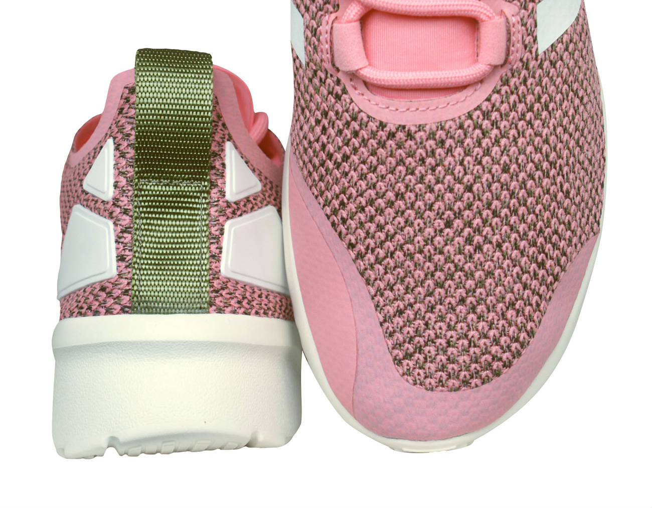 44694f7cde0af adidas Originals ZX Flux ADV Verve Womens Trainers - Pink at ...