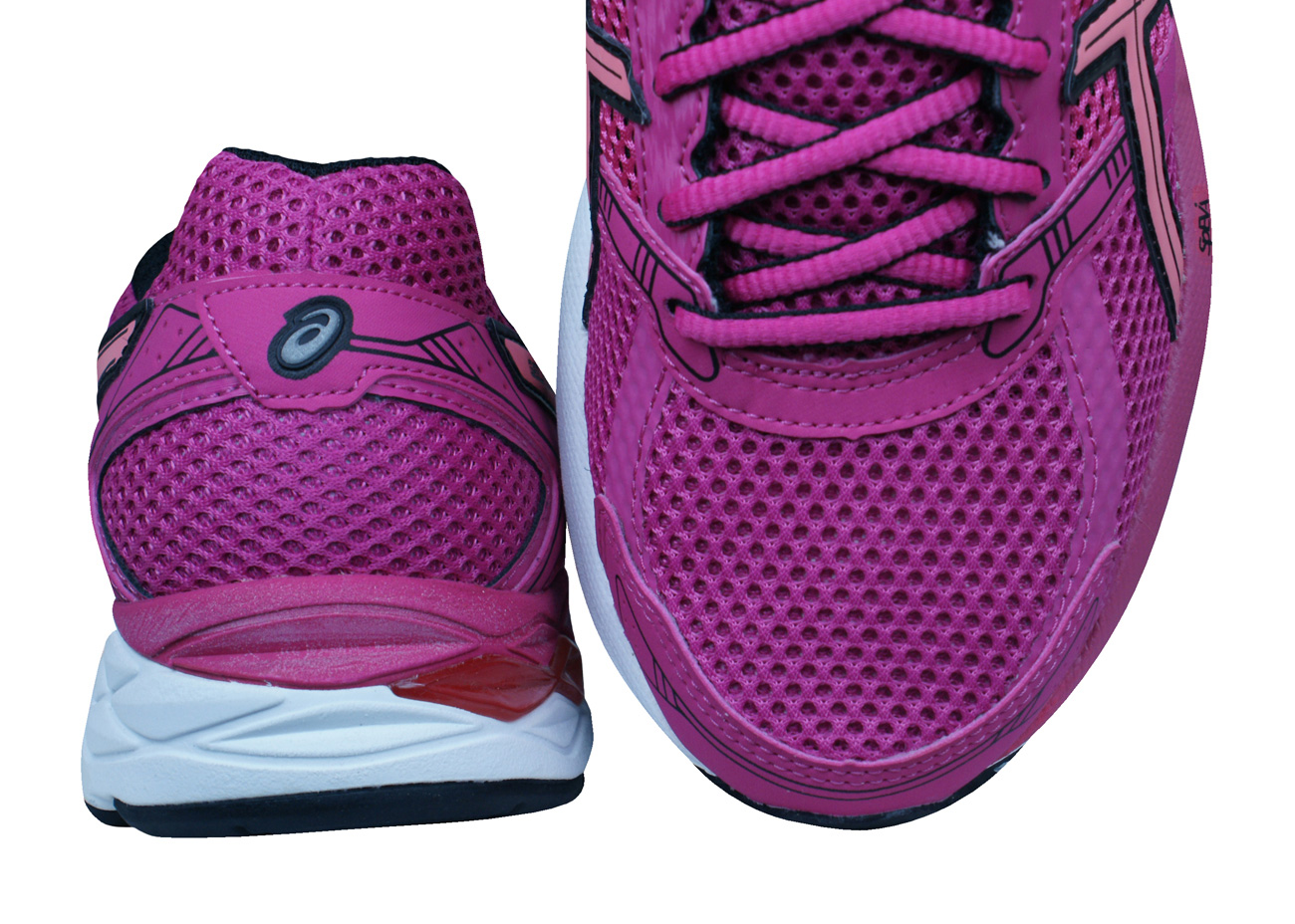 At Zone Fuchsia Trainers Womens Qhwrwzt8 Asics 4 Running Gel Shoes pCAwpqx