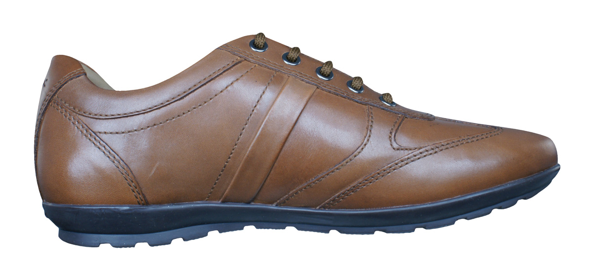 geox u symbol c mens smooth leather trainers shoes