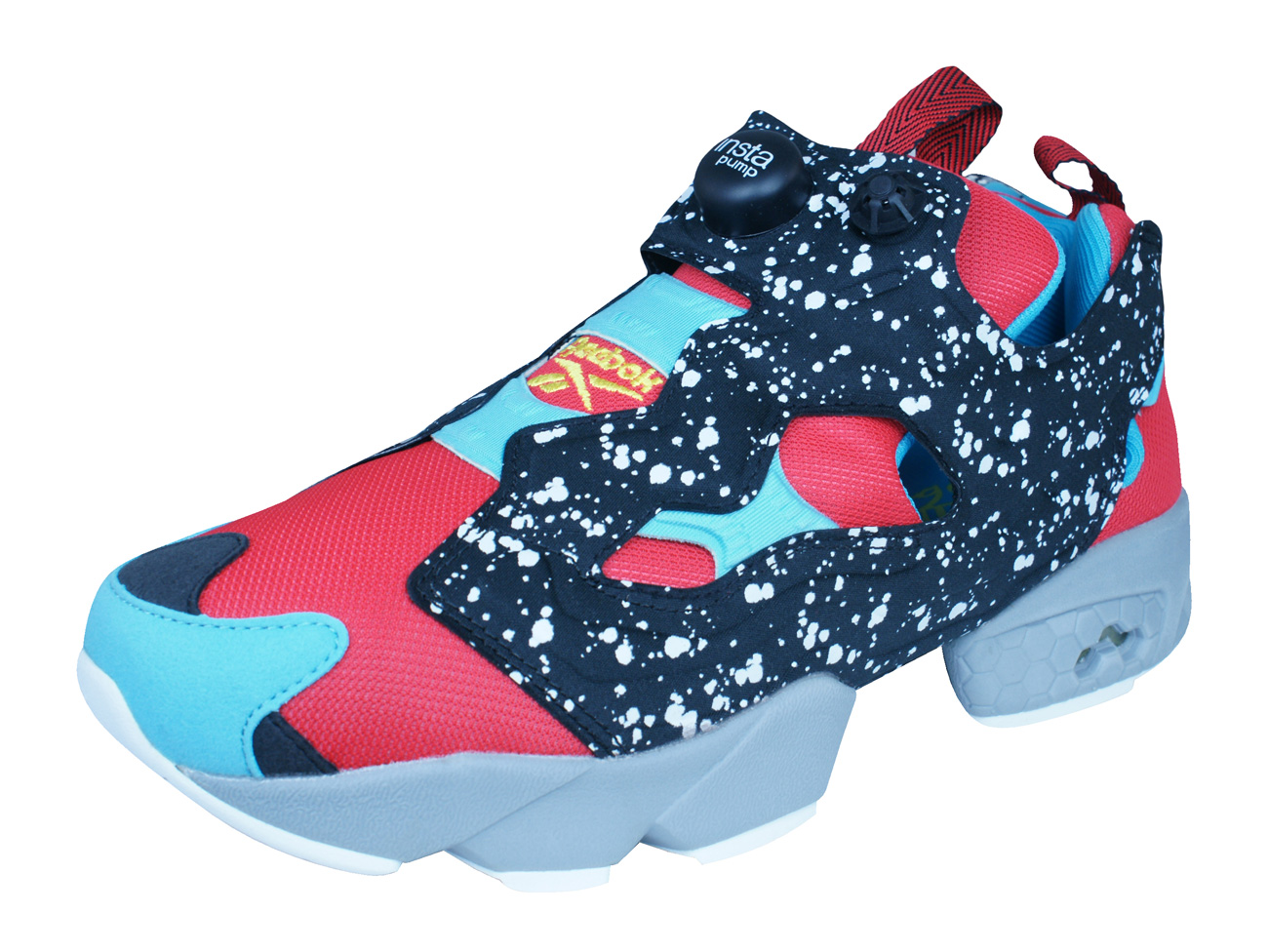 1316655e4168b4 Reebok Instapump Fury SP Mens Trainers   Shoes - Red and Black at ...