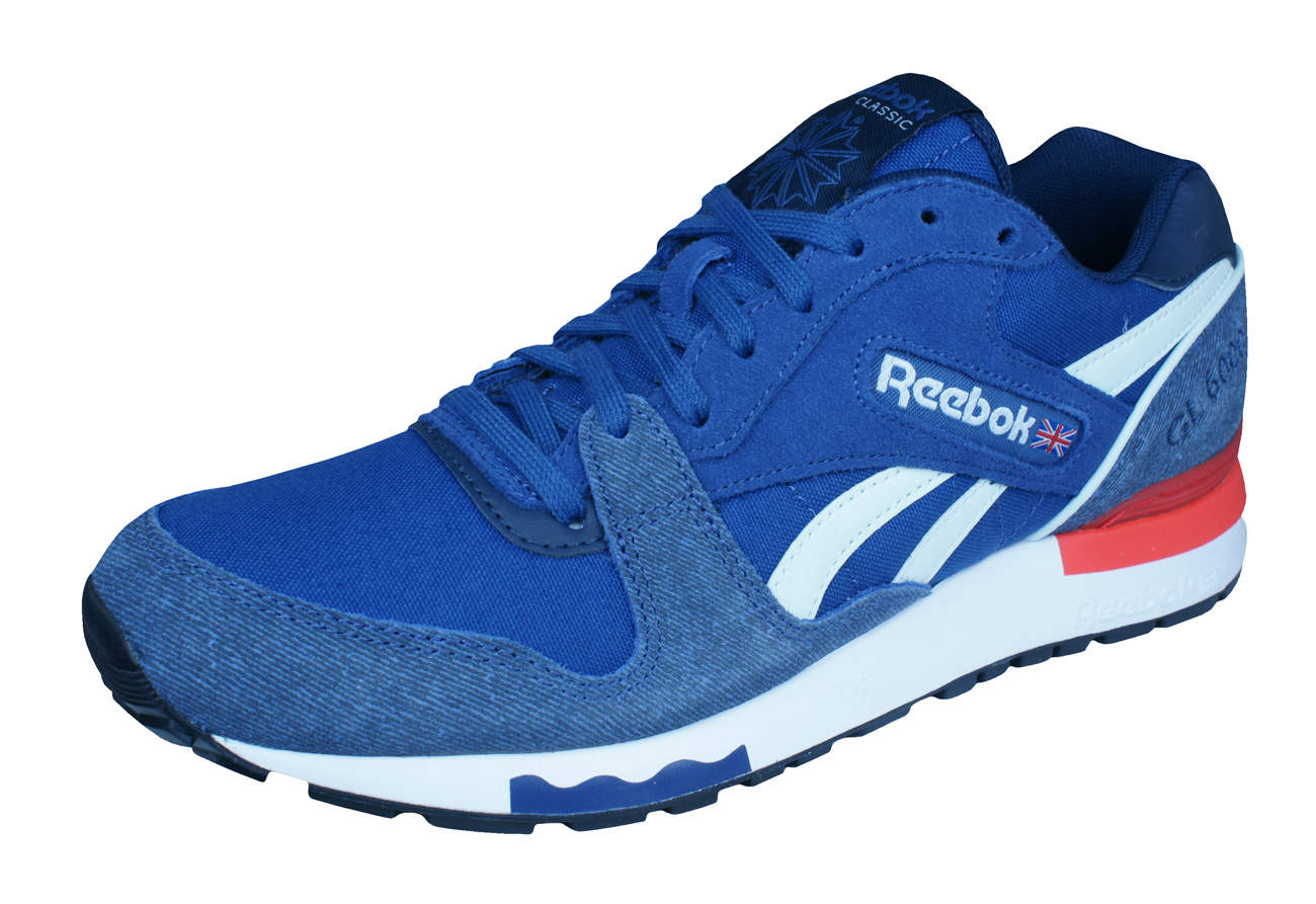 84890c30dc65 Reebok Classic GL 6000 ND Mens Trainers   Shoes - Blue at ...